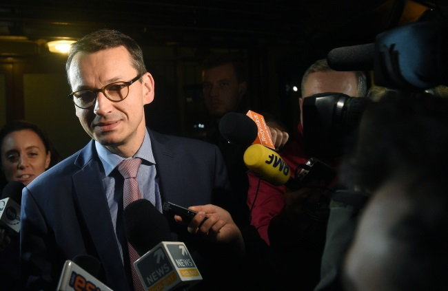 Deputy PM and Development and Finance Minister Mateusz Morawiecki. Photo: PAP/Radek Pietruszka