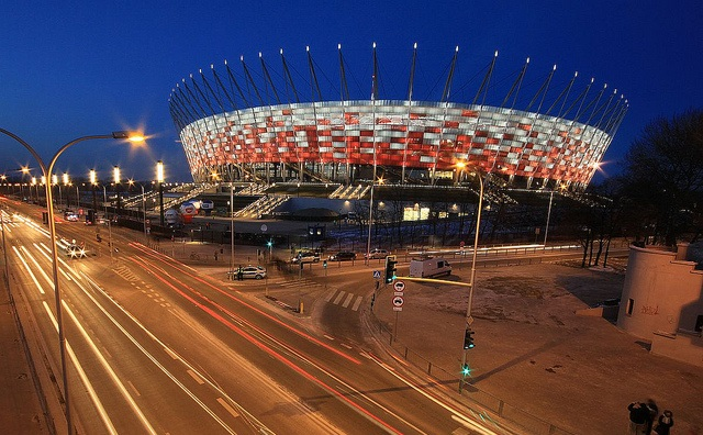 The National Stadium in Warsaw. Photo: Flickr.com/Ministry of Foreign Affairs of the Republic of Poland