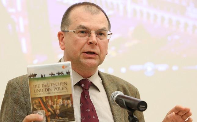 Dr. Andrzej Kałuża vom Deutschen-Polen Institut aus Darmstadt