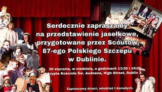 Polskie Jasełka w kościele św. Audeona w Dublinie