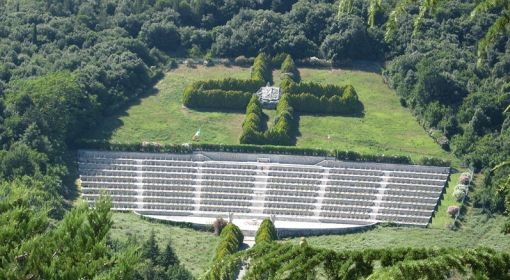 Polish cemetery at Monte Cassino.