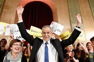 Переможцем президентських виборів в Австрії став Алєксандер ван дер Беллен