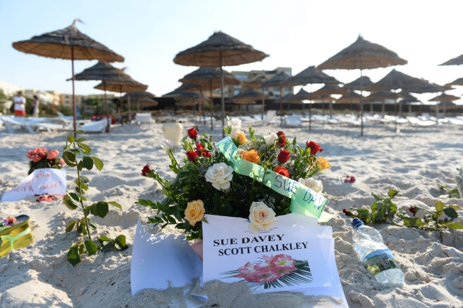 Friday's attack in Tunisia was on a sandy beach. Photo: PAP/EPA/ANDREAS GEBERT