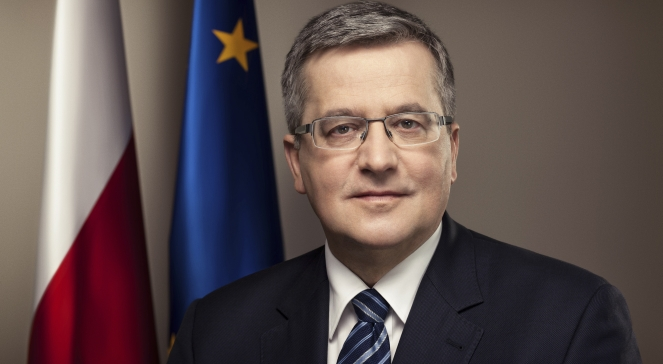 Президент Польщі Броніслав Коморовський