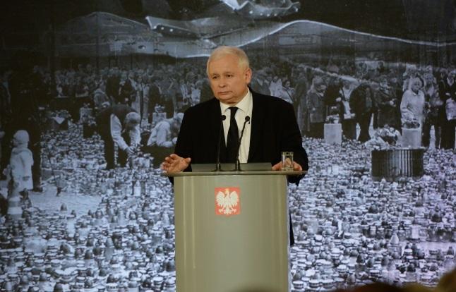 Jarosław Kaczyński. Photo: PAP/Jacek Turczyk