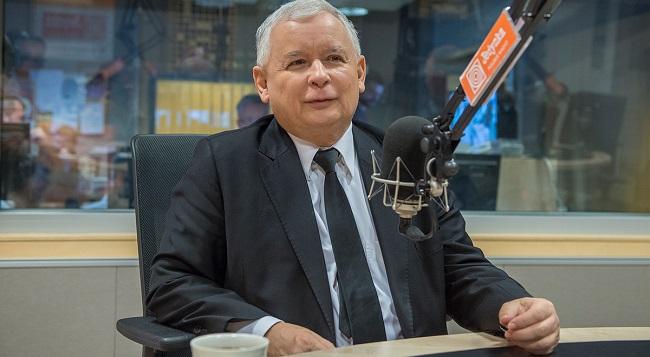 Глава партии «Право и Справедливость» Ярослав Качиньский.