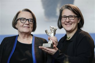 Agnieszka Holland wins Silver Bear at Berlin Film Festival