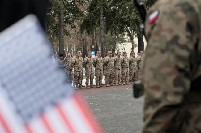 Американські військові прибували до Польщі протягом останнього тижня