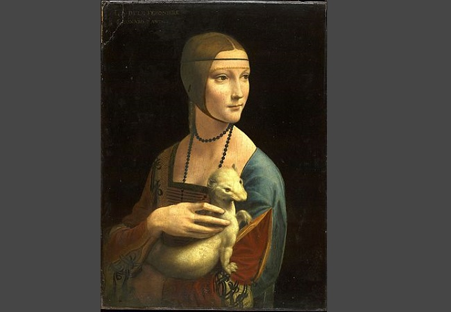 Lady with an Ermine. Photo: Wikimedia Commons.