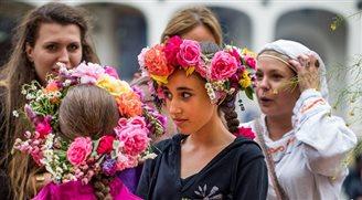 Polski folklor na Festiwalu Wianki w Waszyngtonie