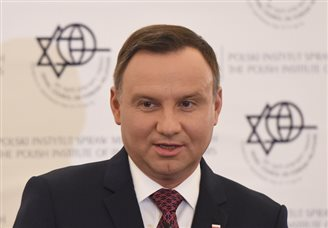 Polish President ends Israel, Palestine visit