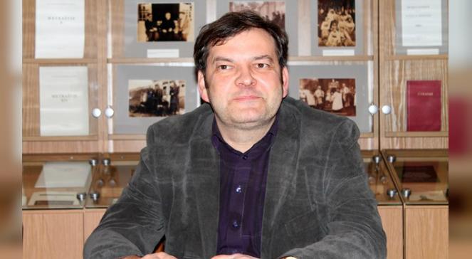 Andrzej Pukszto, kierownik Katedry Politologii Uniwersytetu Witolda Wielkiego w Kownie
