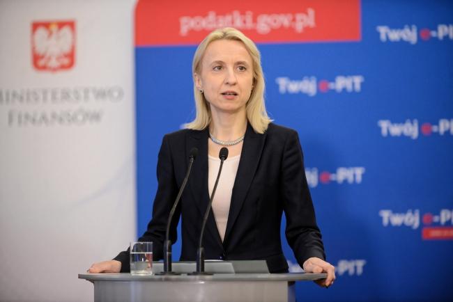 Министр финансов Польши Тереса Червиньская