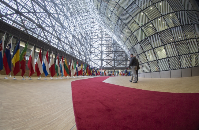 The European Council building in Brussels where on Thursday EU leaders will meet for a two-day summit
