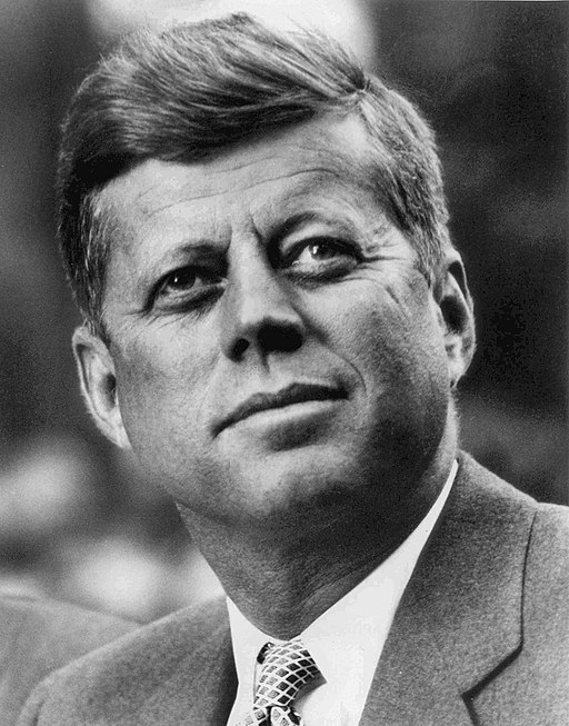 John F. Kennedy. Photo: White House Press Office, public domain, via Wikimedia Commons
