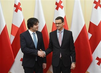 Polish PM reiterates support for Georgia's NATO, EU membership