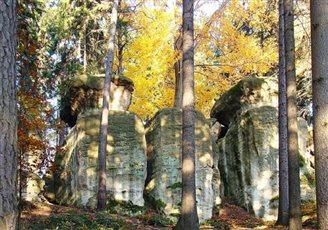 Скалы гномікаў у Гажэшове (ФОТА)