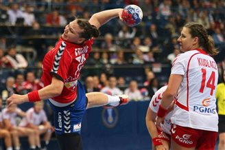 Serbia topples Poland in World Championships semi-final