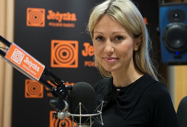 Magdalena Ogórek. Photo: Wojciech Kusiński/Polish Radio