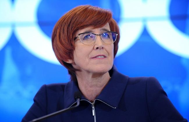 Elżbieta Rafalska. Foto: PAP/Marcin Obara
