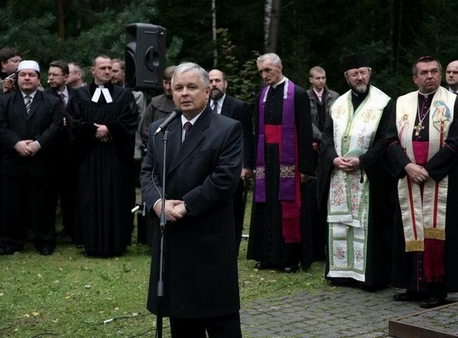 Лєх Качинський. Катинь, 2007