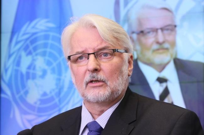Poland's Foreign Minister Witold Waszczykowski. Photo: PAP/Paweł Supernak