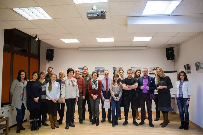 Вечір пам`яті Небесної Сотні в Українському домі у Варшаві