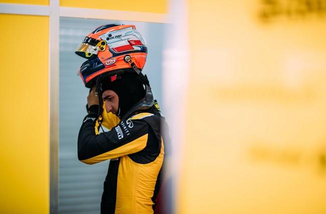 Robert Kubica. Photo: Twitter.com/Renault Sport F1.