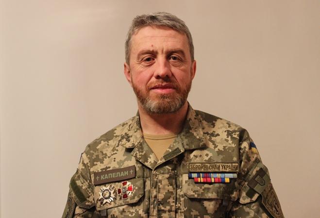 Ігор Шулік (Шторм), командир Християнської служби порятунку
