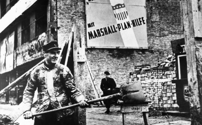 Виконання Плану Маршала у Західному Берліні