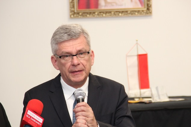 Маршал, тобто спікер Сенату Республіки Польща Станіслав Карчевський