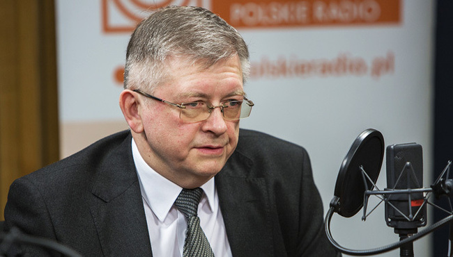Ambassador of Russia Sergey Andreyev. Photo: Polish Radio/Wojciech Kusiński