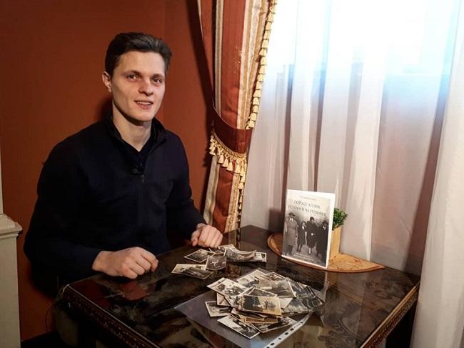 Руслан Кулевіч і яго кніга «Горад адзін, успаміны розныя»