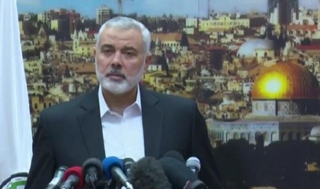 Кіраўнік Палітбюро палестынскага руху Хамас Ісмаіл Ханія