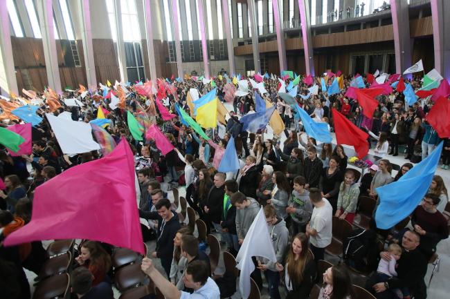 Єпархіальне святкування Світового дня молоді