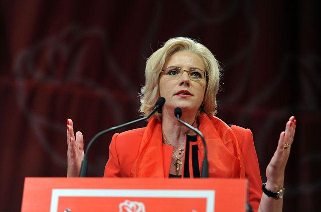 Corina Cretu. Photo: Partidul Social Democrat/Wikimedia Commons (CC BY 2.0)