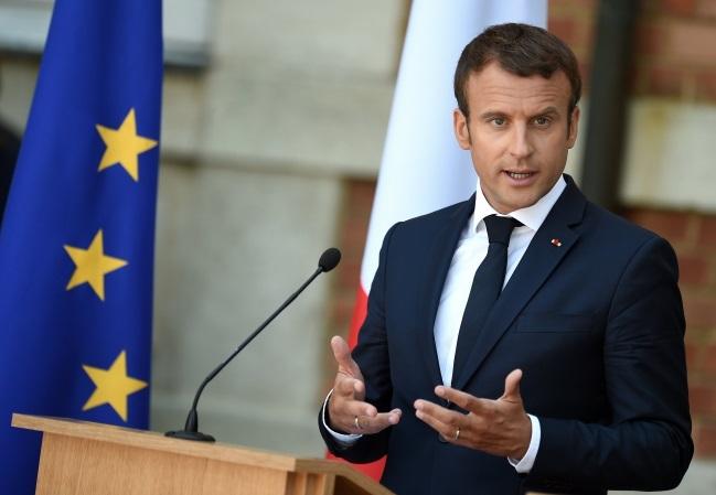 Emmanuel Macron. Photo: EPA/VASSIL DONEV
