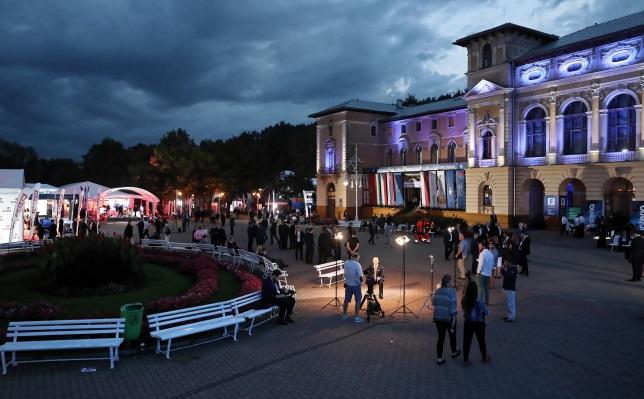 Первый день 28-о Экономического форума в Крынице-Здруй