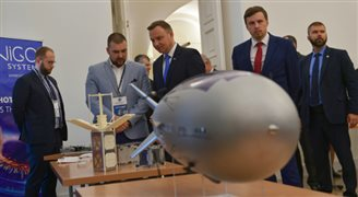 W Pałacu Prezydenckim o sektorze kosmicznym