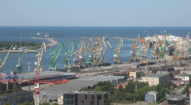 Порт в Клайпеді
