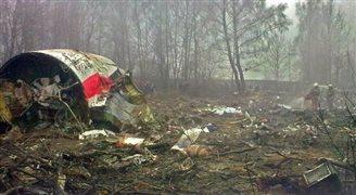 Briten untersuchen polnisches Flugzeugwrack