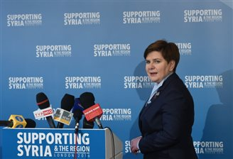 Poland pitches in with aid for Syria