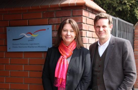 Ewa Nocoń Geschäftsführerin (Büro Warschau), Stephan Erb Geschäftsführer  (Büro Potsdam).