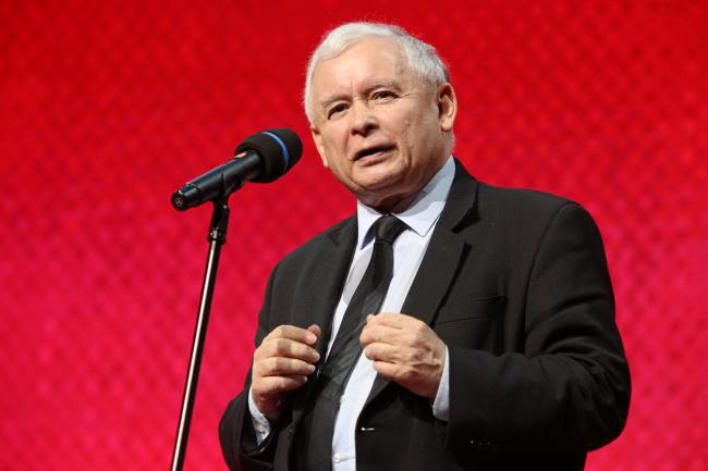 Law and Justice party leader Jarosław Kaczyński. Photo: PAP/Stanisław Rozpędzik