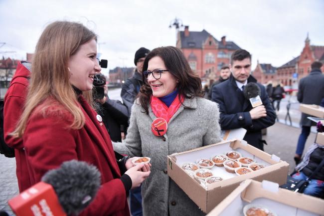 Алєксандра Дулькєвич подякувала своїм виборцям