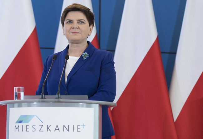 Polish PM Beata Szydło. Photo: KPRM
