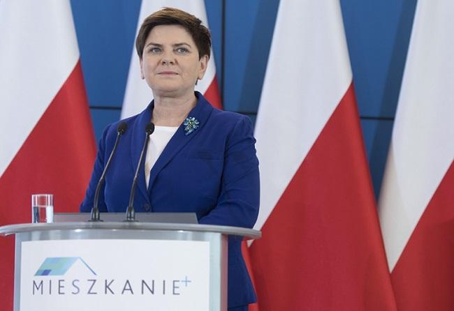 Polish PM Beata Szydło. Photo: KPRM