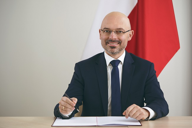 Polish Deputy Energy Minister Michał Kurtyka. Photo: me.gov.pl