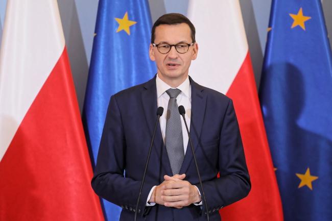 Прем'єр-міністр Польщі Матеуш Моравєцький