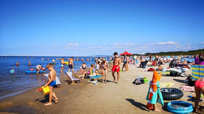 Один з кращих пляжів польської Балтики